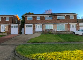 Thumbnail 4 bedroom semi-detached house for sale in Brignall Rise, Sunderland