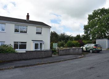 Thumbnail 3 bed semi-detached house for sale in 91 The Beeches, Llandysul, Carmarthenshire