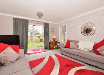 Thumbnail 3 bed link-detached house for sale in Oliver Close, Crowborough, East Sussex