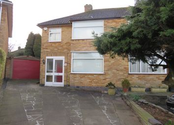 Thumbnail 3 bed semi-detached house for sale in Castleford Road, Braunstone, Leicester