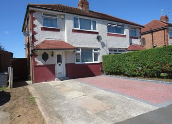 Thumbnail 3 bed semi-detached house for sale in Crosthwaite Avenue, Eastham, Wirral