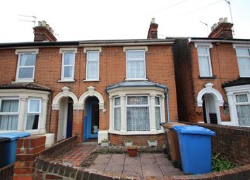 Thumbnail 3 bedroom end terrace house for sale in Foxhall Road, Ipswich
