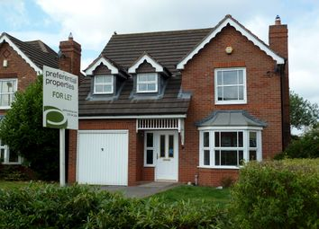 Thumbnail 4 bed detached house to rent in Saracen Drive, Sutton Coldfield, West Midlands.