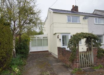 Thumbnail 2 bed semi-detached house for sale in Heol Offa, Vron, Wrexham