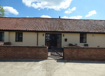 Thumbnail 1 bed terraced bungalow to rent in North Green, Pulham St. Mary, Diss