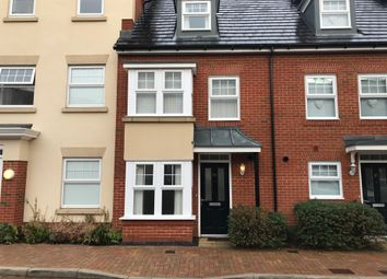 Thumbnail 4 bed terraced house to rent in Trinity Village, Mackintosh Street, Bromley