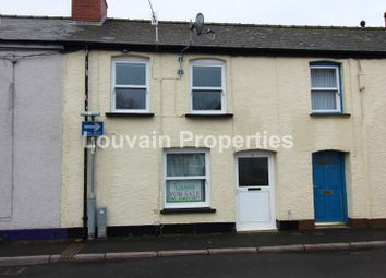 Thumbnail 2 bed terraced house for sale in Commercial Street, Abergavenny, Monmouthshire.