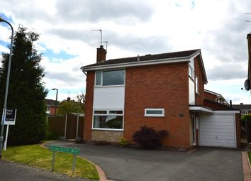 Thumbnail 3 bed detached house for sale in Chillington Drive, Codsall, Wolverhampton, Staffordshire