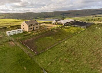 Thumbnail 4 bed equestrian property for sale in Belle Vue Farm, Harrop Edge Lane, Diggle