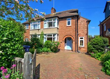 Thumbnail 4 bedroom semi-detached house for sale in Thornton Road, Girton, Cambridge