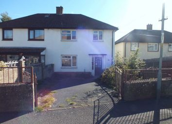 Thumbnail 3 bed semi-detached house for sale in Underhill Crescent, Abergavenny