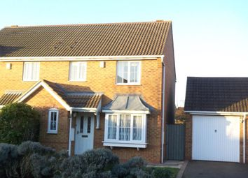 Thumbnail 3 bed semi-detached house to rent in Douglas Bader Drive, Lutterworth
