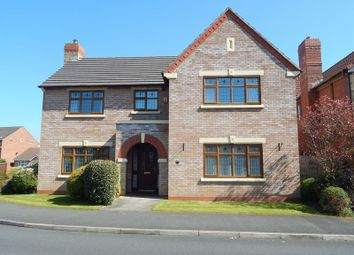 Thumbnail 4 bed detached house for sale in Pendlebury Close, Longton, Preston