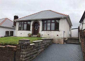 Thumbnail 3 bed detached bungalow for sale in Caemawr Road, Morriston, Swansea