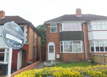 Thumbnail 2 bed semi-detached house to rent in Dovercourt Road, Sheldon, Birmingham