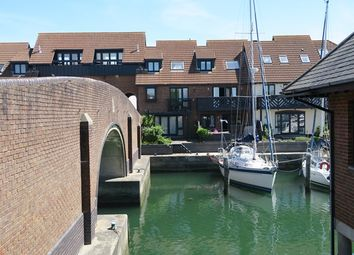 Thumbnail 3 bed town house for sale in Velsheda Court, Hythe Marina Village, Hythe, Southampton