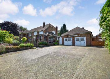 Thumbnail 4 bed detached house for sale in Crowhurst Lane, West Kingsdown, Sevenoaks, Kent