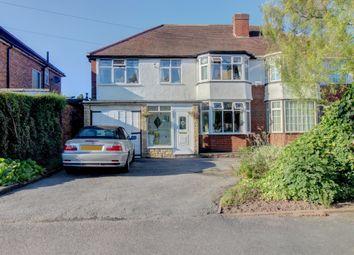 Thumbnail 4 bedroom semi-detached house for sale in Chester Road, Kingshurst, Birmingham