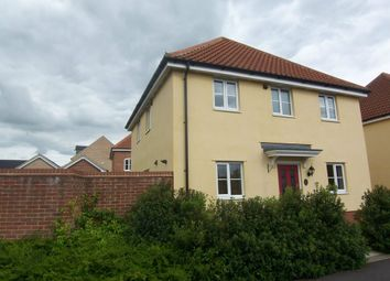 Thumbnail 3 bed detached house to rent in Holly Blue Road, Wymondham