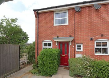 Thumbnail 2 bed end terrace house to rent in Hillside Gardens, Wittering, Peterborough