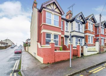 Thumbnail 3 bed end terrace house for sale in Camden Road, Gillingham, Kent