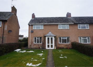 Thumbnail 3 bed semi-detached house for sale in Glan Yr Afon, Welshpool