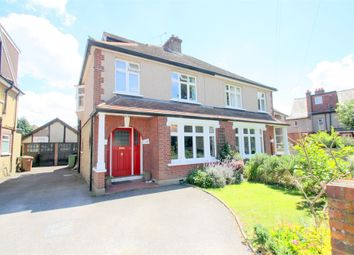 Thumbnail 4 bed semi-detached house for sale in Penton Road, Staines-Upon-Thames, Surrey
