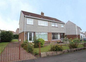 Thumbnail 3 bed semi-detached house for sale in Gargrave Avenue, Garrowhill, Glasgow, Lanarkshire