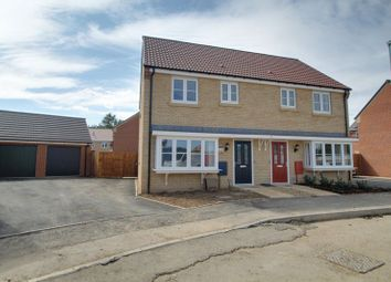 Thumbnail 3 bed semi-detached house for sale in The Windsor, Eastrea Road, Whittlesey, Peterborough