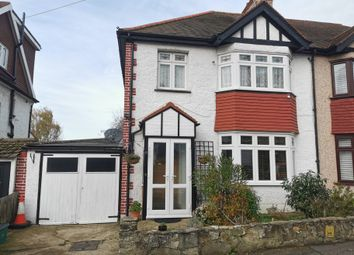 Thumbnail 3 bed semi-detached house for sale in Fromondes Road, Cheam