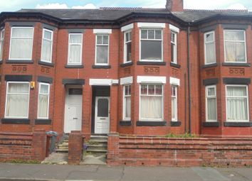 Thumbnail 3 bed terraced house for sale in Kensington Avenue, Manchester
