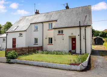 Thumbnail 3 bed semi-detached house for sale in Tinwald View Back Road, Locharbriggs, Dumfries