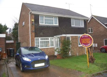 Thumbnail 2 bed property to rent in Lowick Court, Moulton, Northampton