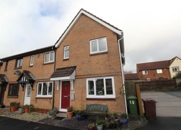 Thumbnail 3 bed end terrace house for sale in Lawn Close, Plympton, Plymouth
