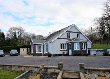 Thumbnail 4 bed detached bungalow for sale in Twin Oaks, Derwen Road, Cwmmawr, Llanelli