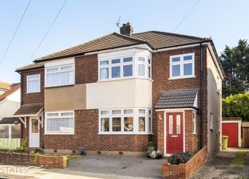 Thumbnail 3 bed semi-detached house for sale in Franmil Road, Hornchurch