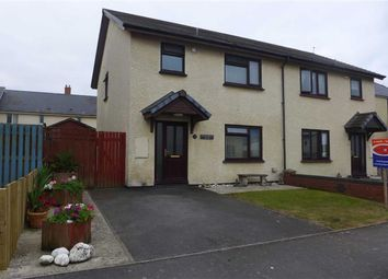 Thumbnail 3 bed semi-detached house for sale in Clos Pantyfedwen, Borth, Ceredigion