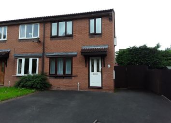 Thumbnail 3 bedroom semi-detached house for sale in Robins Drive, Madeley, Telford