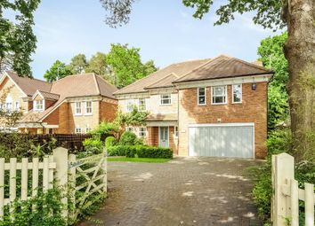 Thumbnail 6 bed detached house to rent in Rise Road, Sunningdale