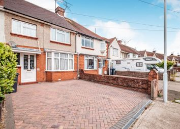Thumbnail 3 bed terraced house to rent in Congreve Road, Broadwater, Worthing
