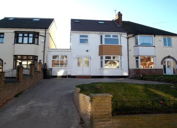 Thumbnail 5 bedroom semi-detached house for sale in Manor Road, Stechford, Birmingham