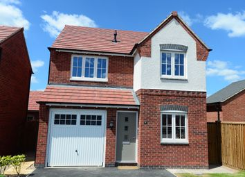 Thumbnail 3 bed detached house for sale in Ashby Road, Tamworth