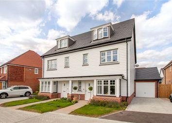 4 bed semi-detached house for sale in Kestrel Walk, Fleet, Hampshire GU51