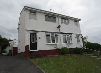 Thumbnail 2 bedroom semi-detached house for sale in Meadow Rise, Brynna, Pontyclun
