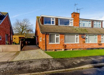 Thumbnail 3 bedroom semi-detached house for sale in Croft Gardens, Old Dalby