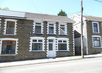 Thumbnail 2 bed semi-detached house for sale in Walters Road, Ogmore Vale, Bridgend, Mid Glamorgan