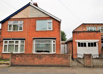 Thumbnail 2 bed semi-detached house for sale in Saffron Road, Wigston