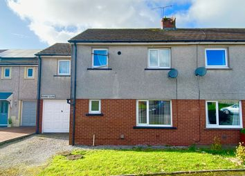 Thumbnail 4 bed semi-detached house for sale in Round Close, Moresby Parks, Whitehaven
