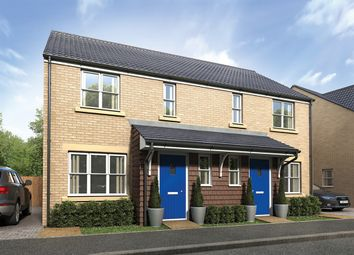 "Thumbnail 3 bed terraced house for sale in ""The Hanbury"" at Hobbs Cross Road, Harlow"