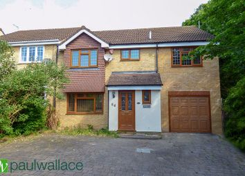 Thumbnail 4 bed semi-detached house to rent in Grovedale Close, Cheshunt, Waltham Cross